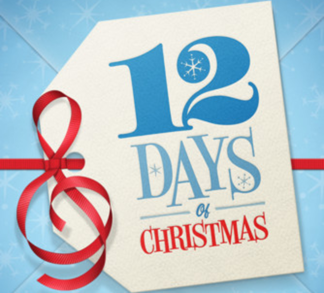 Free iPhone and iPad apps, videos and music with return of iTunes 12 Days of Christmas - photo 1