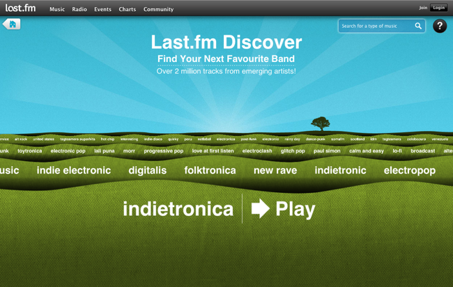 Microsoft tunes in Last.fm for IE9 HTML5 scrobbling  - photo 3