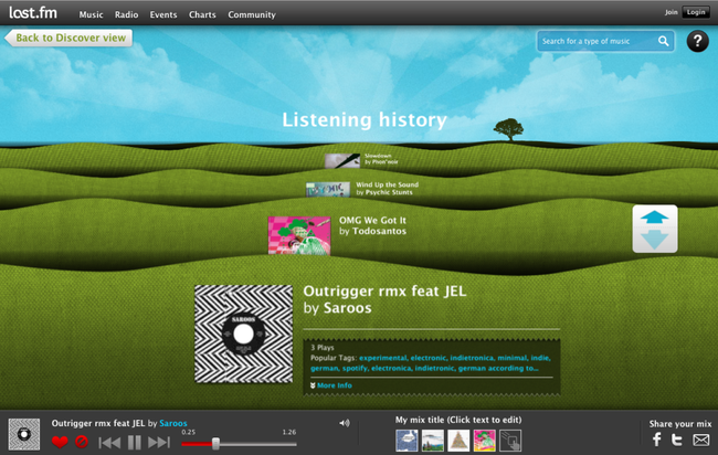 Microsoft tunes in Last.fm for IE9 HTML5 scrobbling  - photo 6