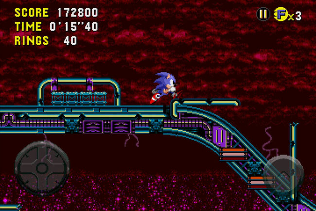 APP OF THE DAY: Sonic CD review (iPhone) - photo 2