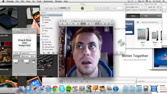 7 days living with....the other computer (Apple Mac OS X) - photo 1