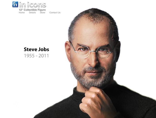 Steve Jobs action figure - bigger than an iPad screen size - photo 7