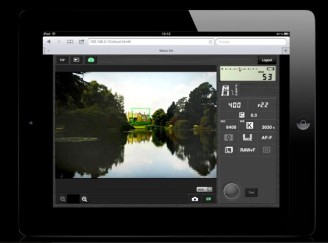 Nikon D4 offers HTTP mode, optimised for iPhone control   - photo 1