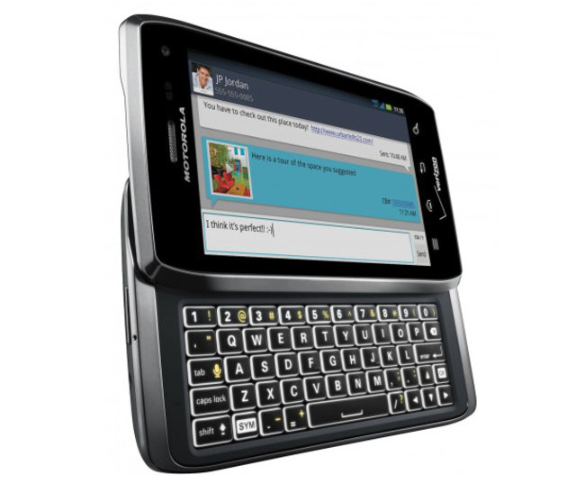 Verizon announces Motorola Droid 4  - photo 1