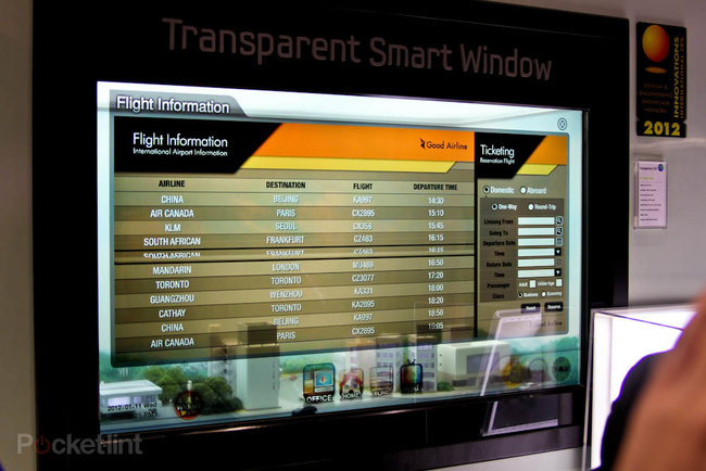 The Samsung Transparent Smart Window makes sci-fi movies a reality - photo 3