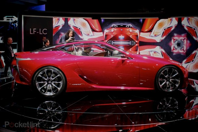 Lexus LF-LC concept pictures and hands-on - photo 13