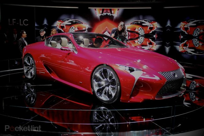 Lexus LF-LC concept pictures and hands-on - photo 14