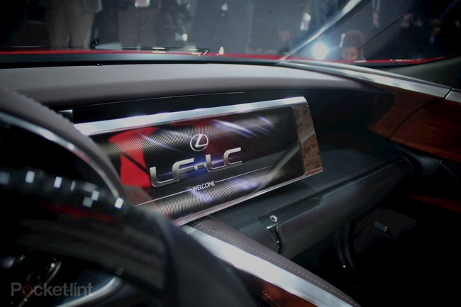 Lexus LF-LC concept pictures and hands-on - photo 7