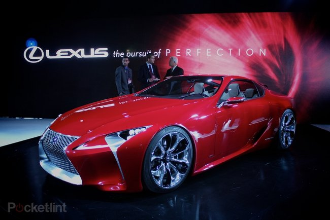 Lexus LF-LC concept pictures and hands-on - photo 9