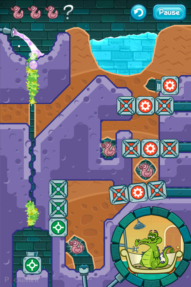 APP OF THE DAY: Where's My Water? review (iPhone/Android) - photo 2