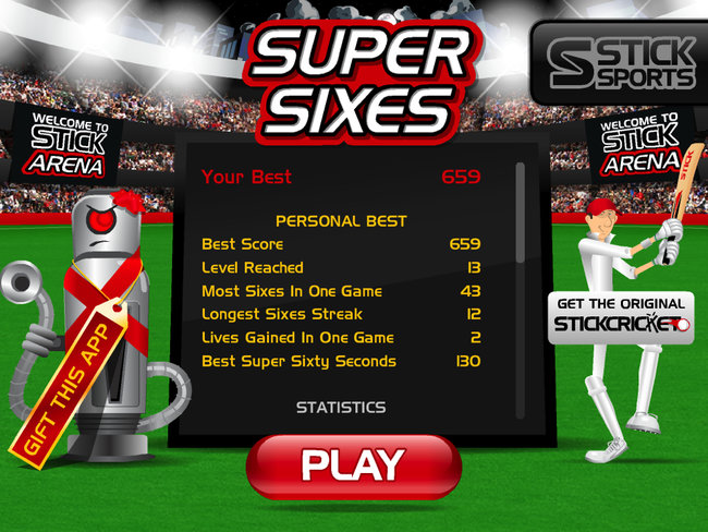 APP OF THE DAY: Stick Cricket Super Sixes review (iPad) - photo 2