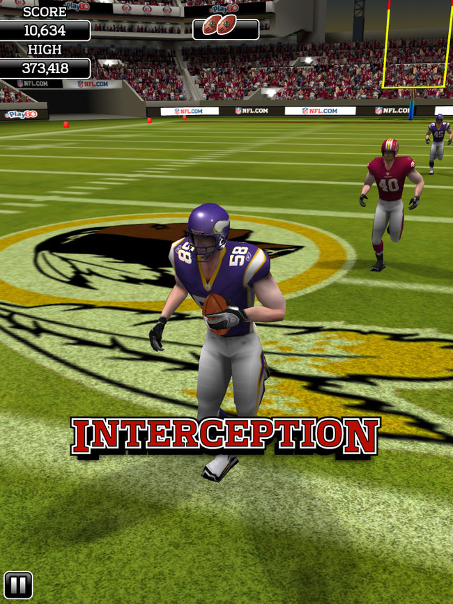 APP OF THE DAY: NFL Flick Quarterback review (iPad / iPhone / Android) - photo 13