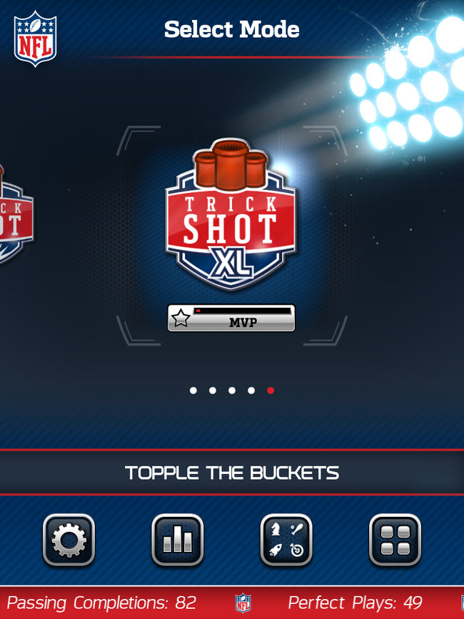APP OF THE DAY: NFL Flick Quarterback review (iPad / iPhone / Android) - photo 6