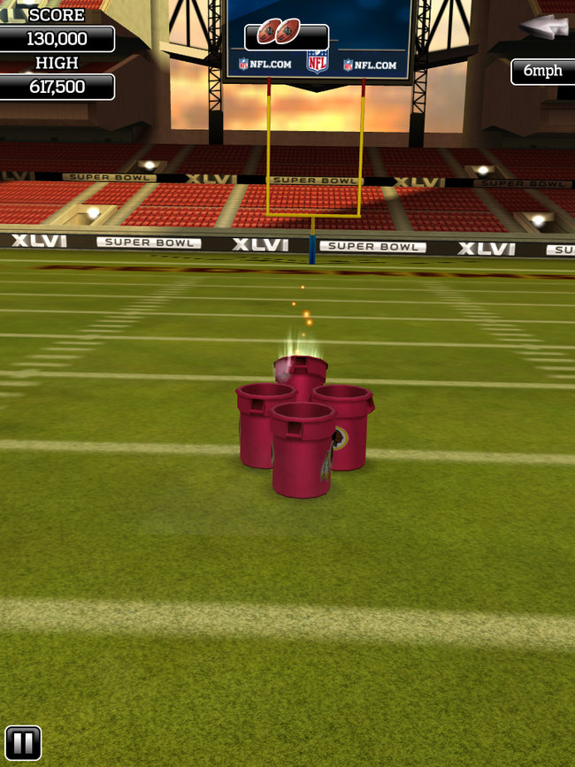 APP OF THE DAY: NFL Flick Quarterback review (iPad / iPhone / Android) - photo 9