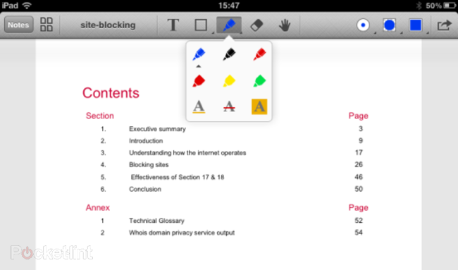 APP OF THE DAY: Remarks review (iPad) - photo 2
