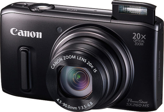 Canon PowerShot SX260 HS and SX240 HS compacts are for the roaming snapper - photo 2