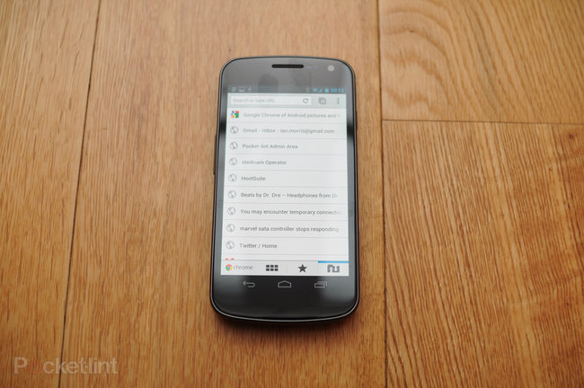 Google Chrome for Android pictures, video and hands-on - photo 3