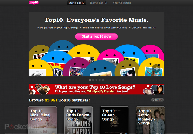 APP OF THE DAY: Top10 review (Spotify) - photo 2