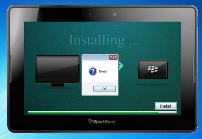 How to turn your BlackBerry Playbook into a Kindle Fire - photo 9