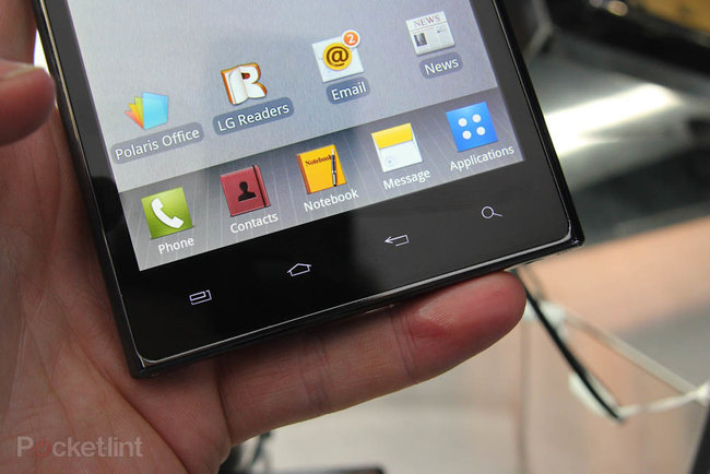 LG Optimus Vu pictures and hands-on - photo 6