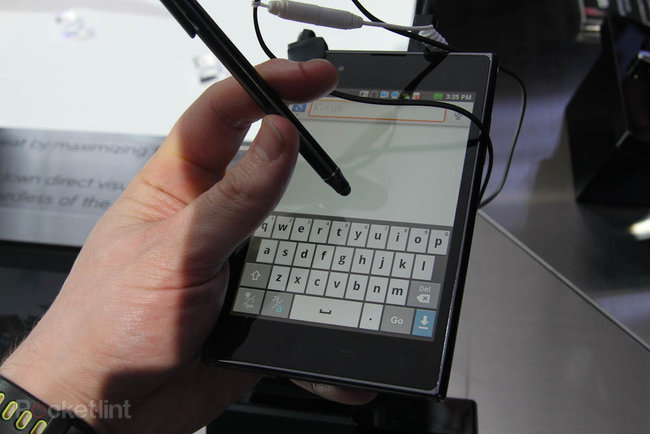 LG Optimus Vu pictures and hands-on - photo 7
