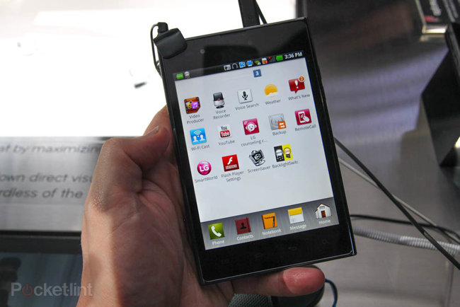 LG Optimus Vu pictures and hands-on - photo 8