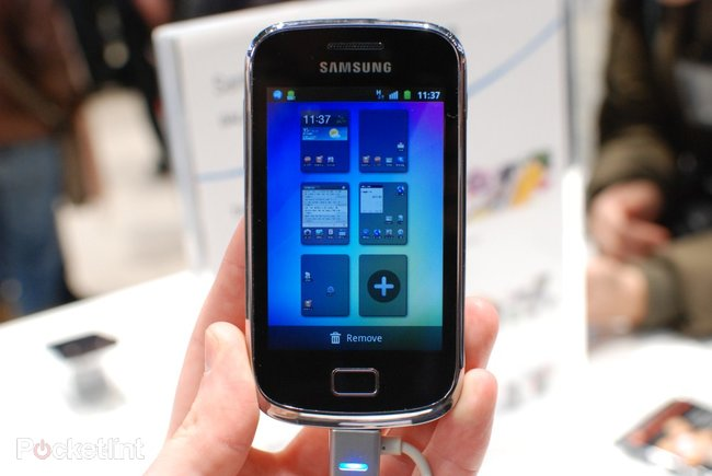 Samsung Galaxy Mini 2 pictures and hands-on - photo 3