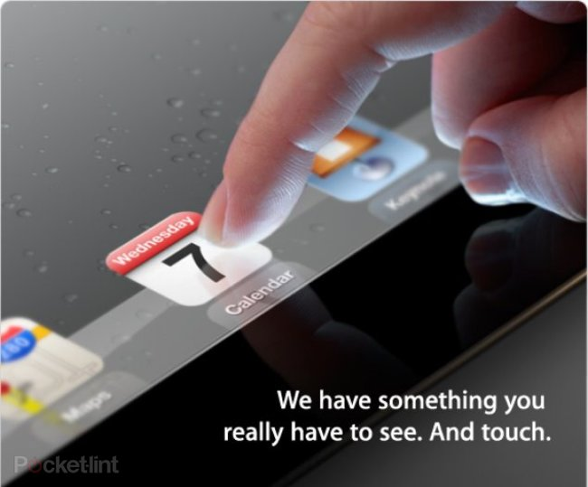 Senseg hints to Pocket-lint that iPad 3 will feature its Feel technology - photo 1