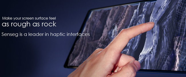 Senseg hints to Pocket-lint that iPad 3 will feature its Feel technology - photo 2