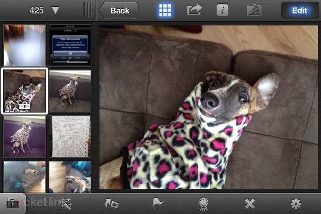 iPhoto app for iPhone and iPad pictures and hands-on - photo 9