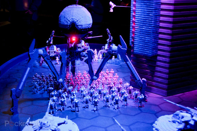 Lego Star Wars Miniland experience (Legoland Windsor) pictures and hands-on - photo 4