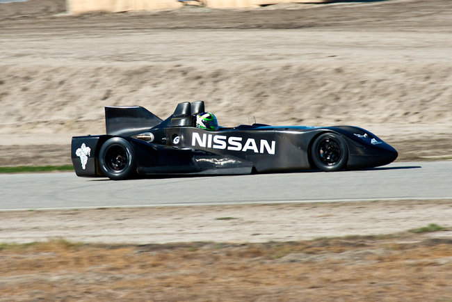 Nissan DeltaWing Le Mans entrant looks more like Batmobile - photo 2