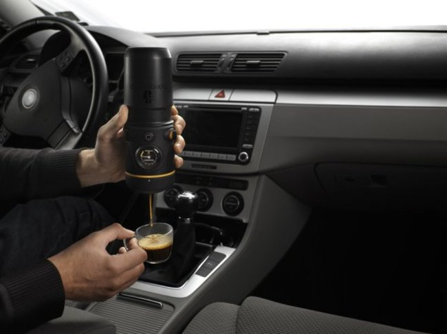 Handpresso auto espresso-maker: Delivers the perfect shot of coffee to a lay-by near you - photo 1