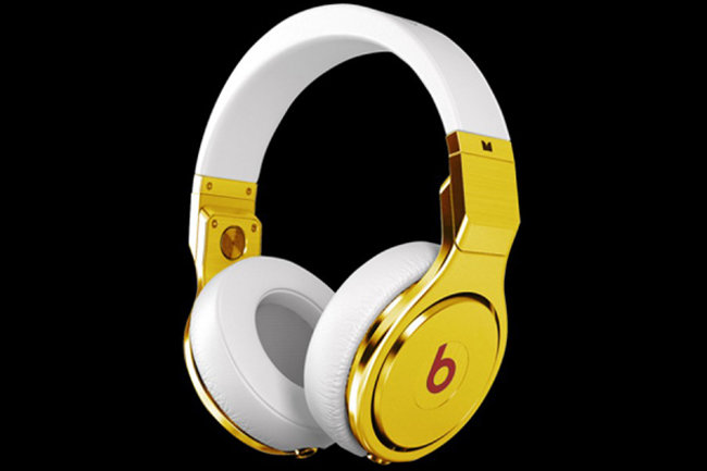 24ct gold Dr Dre Beats Pro headphones - a snip for a grand - photo 1