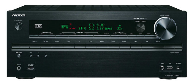 Onkyo TX-NR818 and TX-NR717 AV receivers are midrange monsters - photo 2