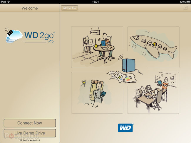 APP OF THE DAY: WD 2go Pro review (iPad / iPhone) - photo 9