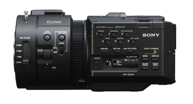 Sony NEX-FS700E pro 4K camcorder incoming - photo 2