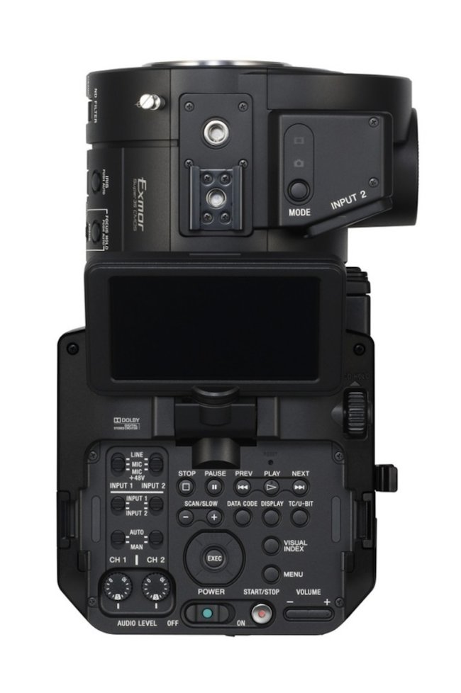 Sony NEX-FS700E pro 4K camcorder incoming - photo 3
