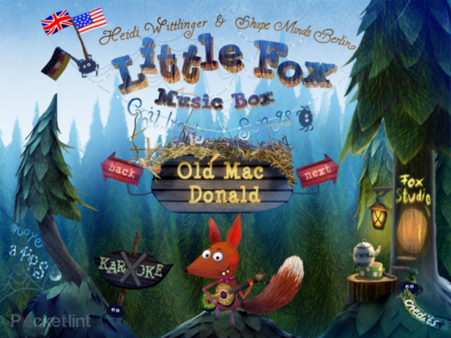 APP OF THE DAY: Little Fox Music Box review (iPad / iPhone)   - photo 1