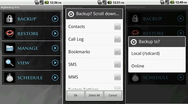 HTCSense.com alternatives: where to back-up and sync your Android next - photo 5
