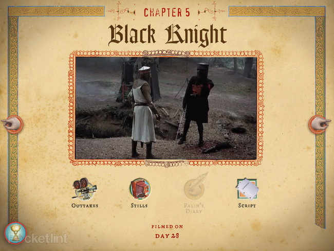 APP OF THE DAY: Monty Python The Holy Book of Days review (iPad) - photo 15