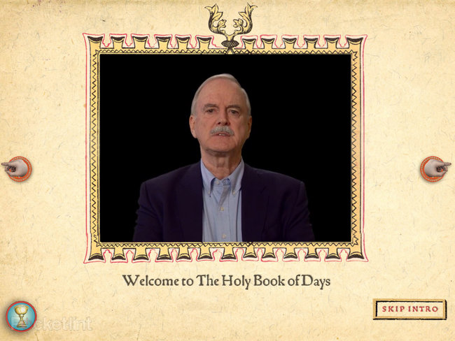 APP OF THE DAY: Monty Python The Holy Book of Days review (iPad) - photo 17