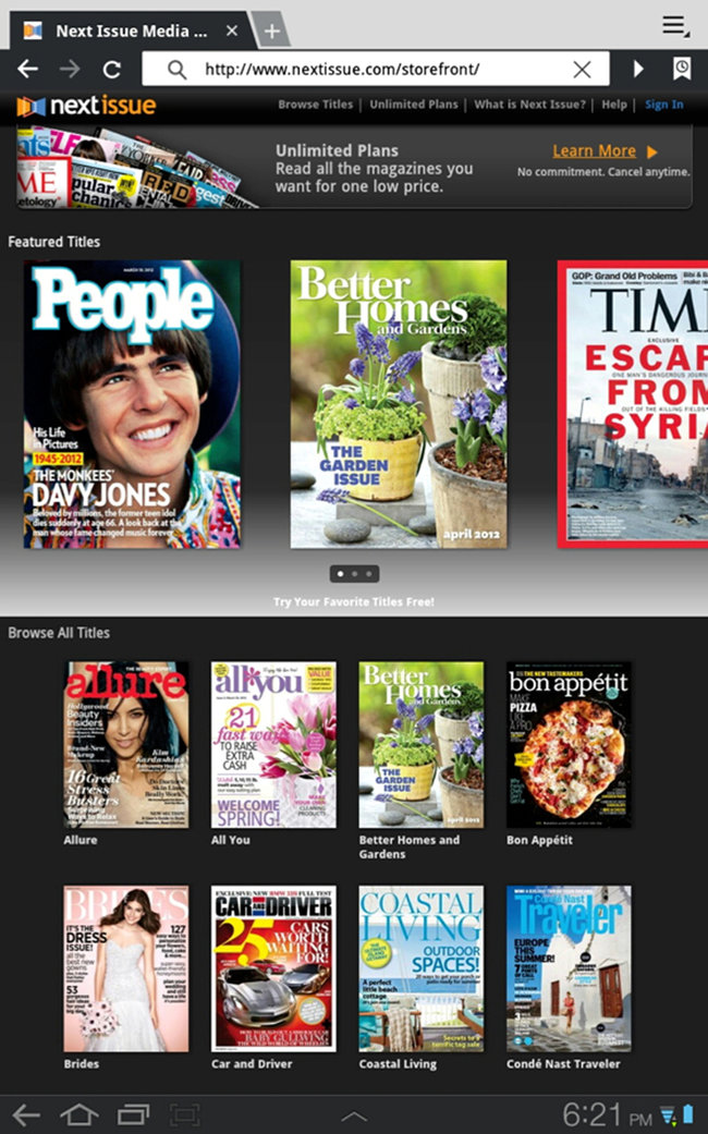 Next Issue, the Netflix for magazines, launches in US - Android-only initially - photo 2