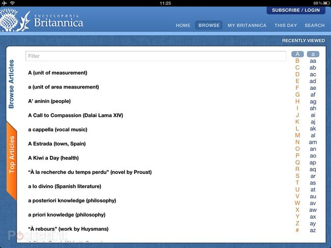 Encyclopaedia Britannica iPad/iPhone app lets you have an answer for everything for £1.99 a month - photo 2