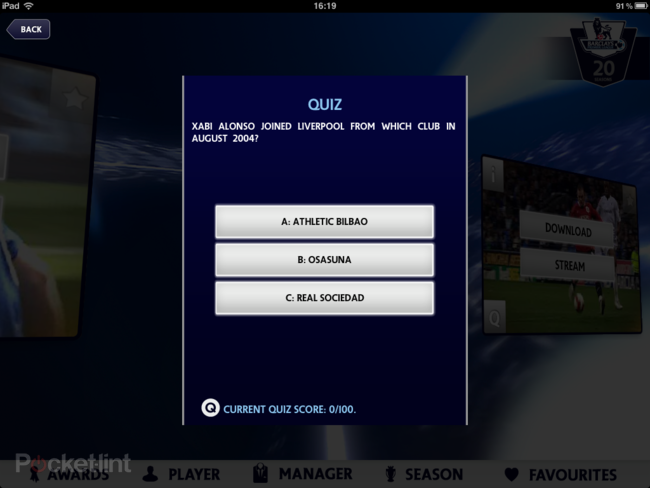 APP OF THE DAY: Premier League 20 Seasons review (iPad / iPhone) - photo 9