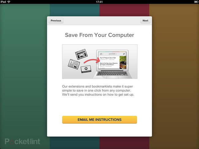 APP OF THE DAY: Pocket review (iPhone / iPad) - photo 3
