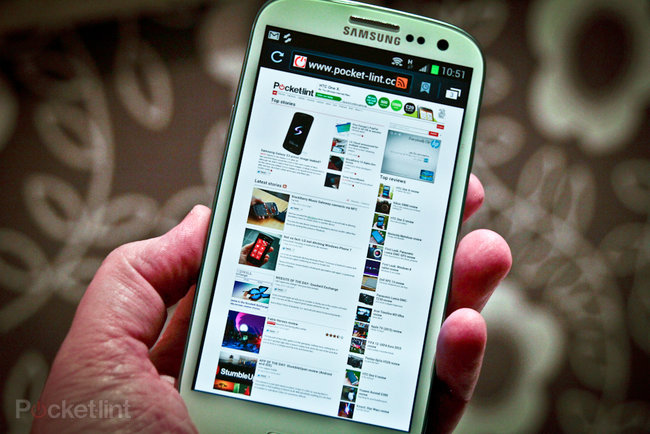 Hands-on: Samsung Galaxy S III review - photo 3