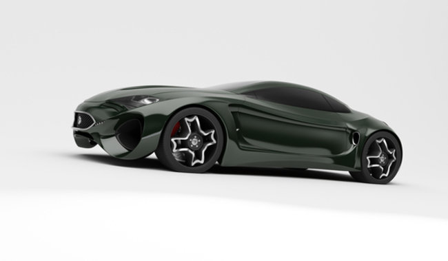 Jaguar XKX concept car - photo 1