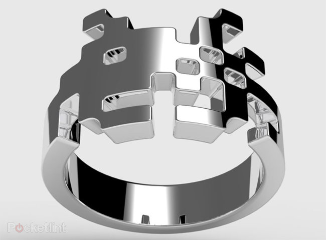 Space Invaders bling rings - photo 1