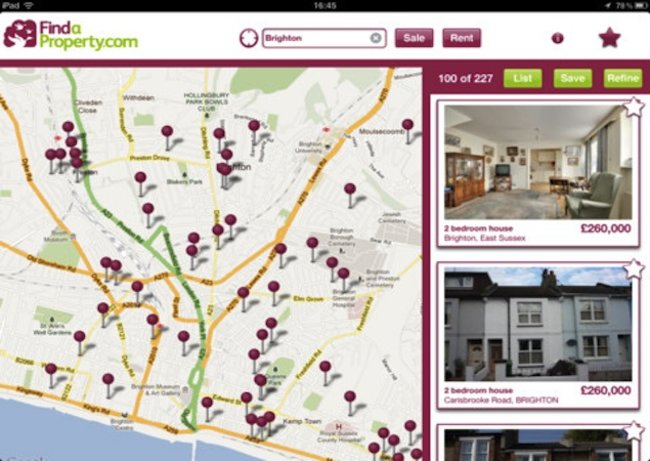 Findaproperty.com iPad app taking the stress out of moving house - photo 1
